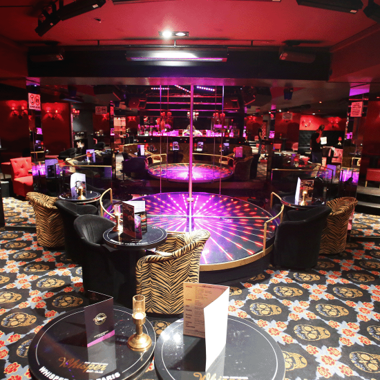 Soho's casino de paris striptease theatre club